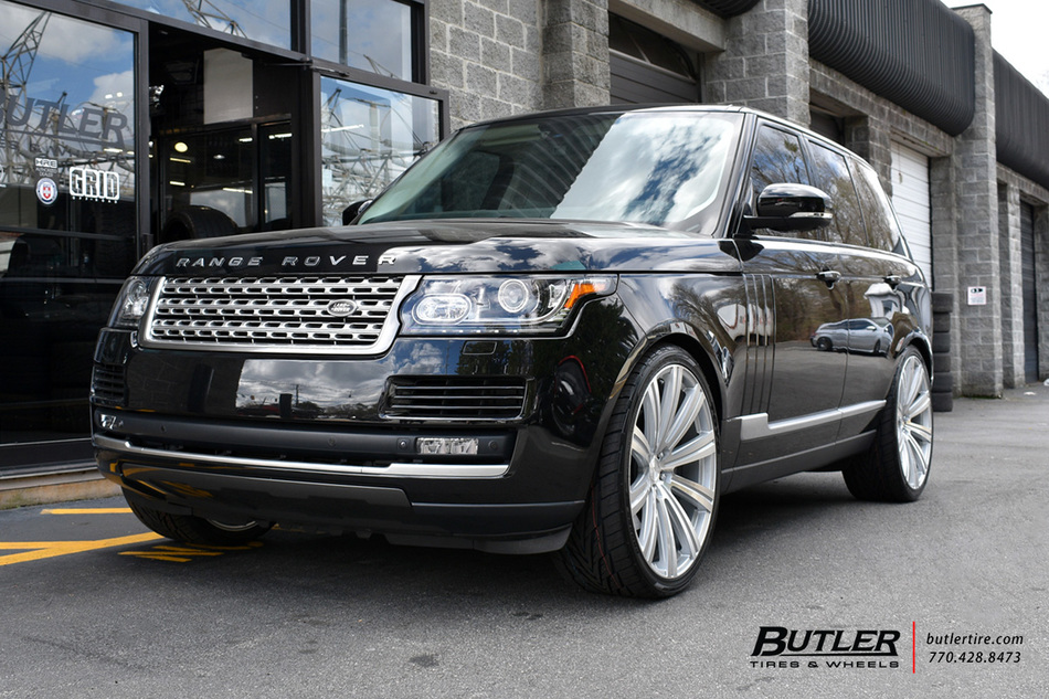 Range Rover Atlanta >> Land Rover Range Rover with 24in Avant Garde AGL-Vanguard Wheels exclusively from Butler Tires ...