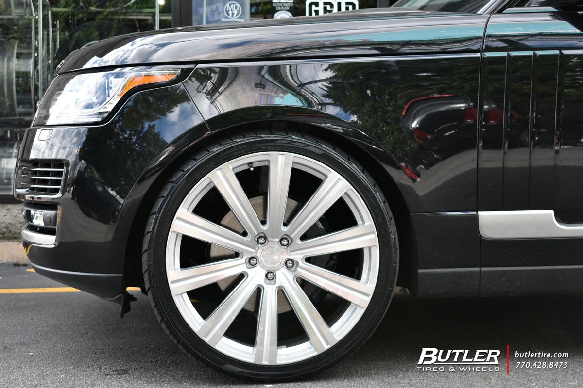 Land Rover Range Rover with 24in Avant Garde AGL-Vanguard Wheels ...