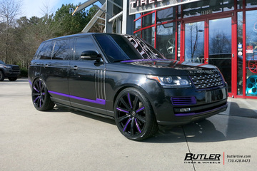 Land Rover Range Rover with 24in Avant Garde AGL-Vanguard Wheels