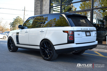 Land Rover Range Rover with 24in Avant Garde AGL-Vanquish Wheels