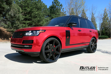 Land Rover Range Rover with 26in Forgiato F2 06M Wheels