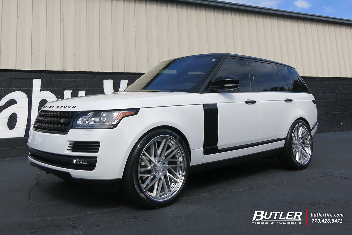 Land Rover Range Rover with 24in Forgiato Tec 3.6 Wheels