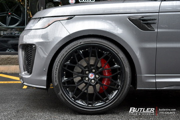 Land Rover Range Rover with 24in HRE S200 Wheels