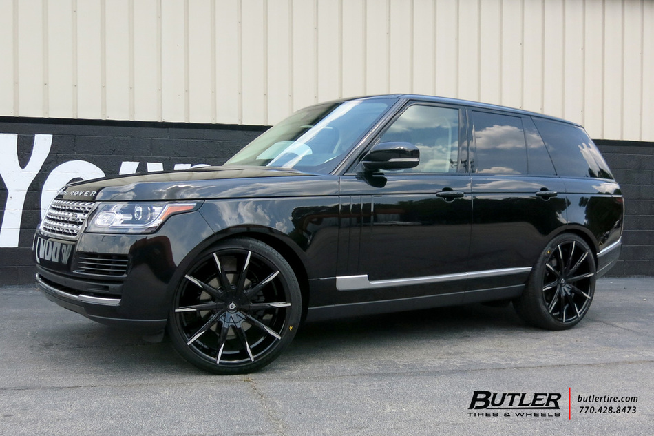 Range Rover Atlanta >> Land Rover Range Rover with 24in Lexani CSS15 Wheels exclusively from Butler Tires and Wheels in ...