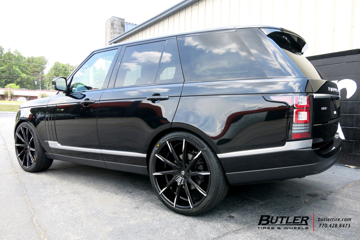 Land Rover Range Rover with 24in Lexani CSS15 Wheels