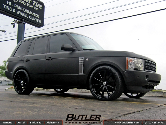 Land Rover Range Rover with 24in Lexani CVX 55 Wheels