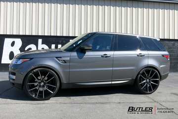 Land Rover Range Rover with 24in Lexani Gravity Wheels