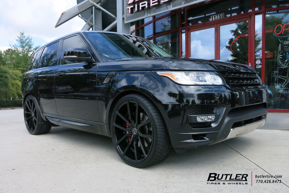Land Rover Range Rover with 24in Lexani Gravity Wheels ...