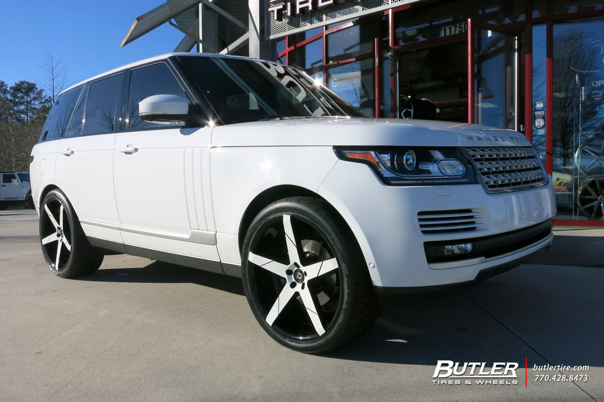 Land Rover Range Rover with 24in Lexani Invictus Wheels