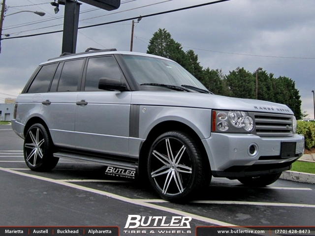 Land Rover Range Rover with 24in Lexani Johnson II Wheels