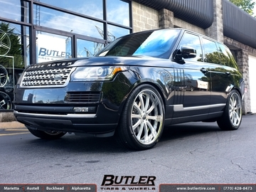 Land Rover Range Rover with 24in Lexani LF707 Wheels