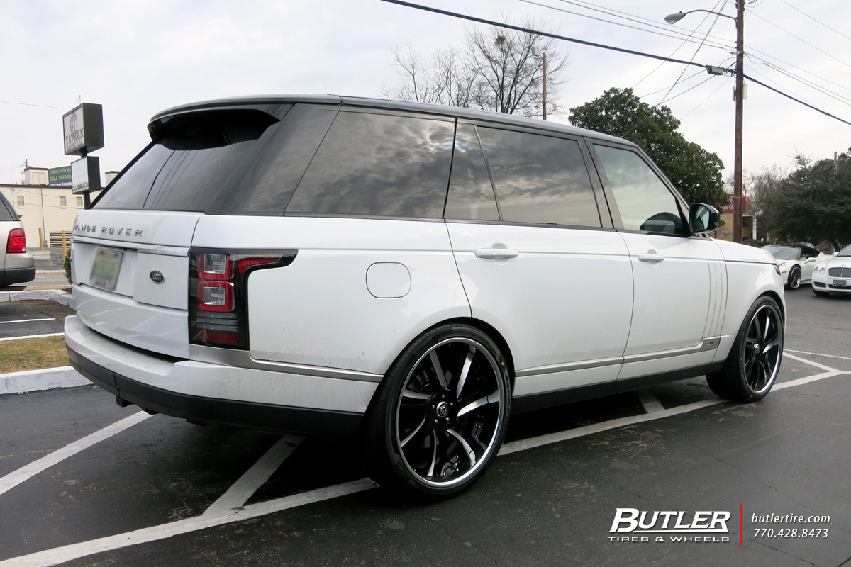 Land Rover Range Rover with 24in Lexani LS736 Wheels