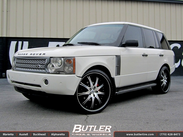 Land Rover Range Rover with 24in Lexani LX 9 Wheels