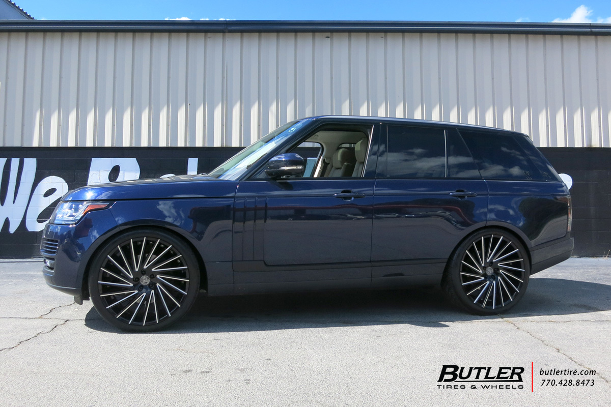 Land Rover Range Rover with 24in Lexani Wraith Wheels