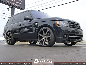 Land Rover Range Rover with 24in Niche Verona M150 Wheels