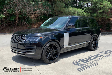Land Rover Range Rover with 24in Redbourne Crown Wheels