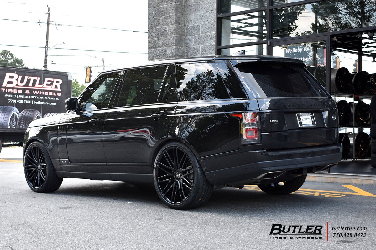 Land Rover Range Rover with 24in Redbourne Royalty Wheels