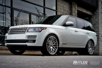 Land Rover Range Rover with 24in Savini SV54d Wheels