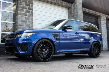 Land Rover Range Rover with 24in Savini SV61 Wheels