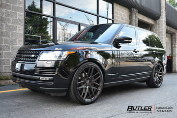 Land Rover Range Rover with 24in Savini SV63d Wheels
