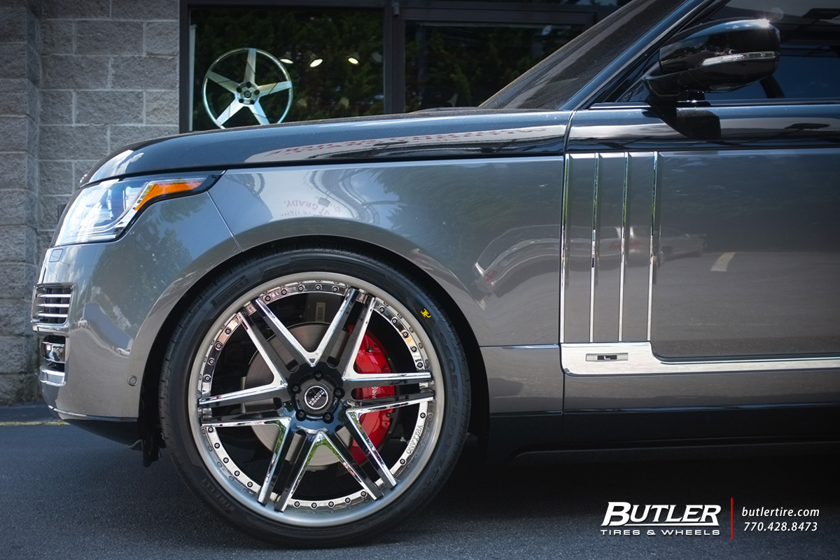 Land Rover Range Rover with 24in Vellano VKJ Wheels