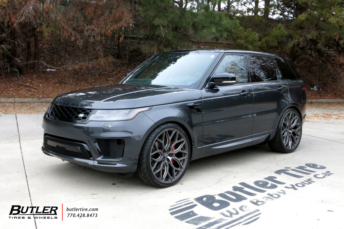 Land Rover Range Rover with 24in Vossen HF-2 Wheels