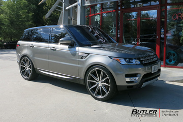 Land Rover Range Rover with 24in Vossen HF-3 Wheels