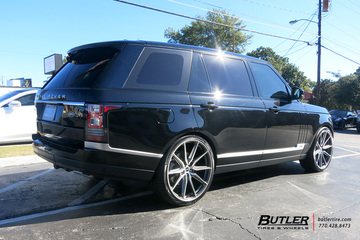 Land Rover Range Rover with 24in Vossen HF6-1 Wheels