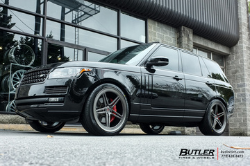 Land Rover Range Rover with 24in Vossen LC-102 Wheels