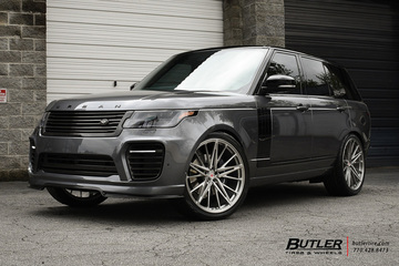 Urban Automotive Range Rover with 24in Vossen M-X6 Wheels