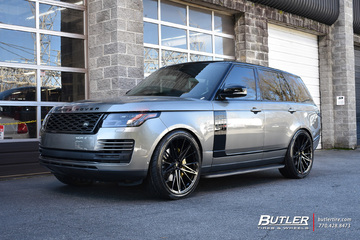 Land Rover Range Rover with 24in Vossen M-X6 Wheels