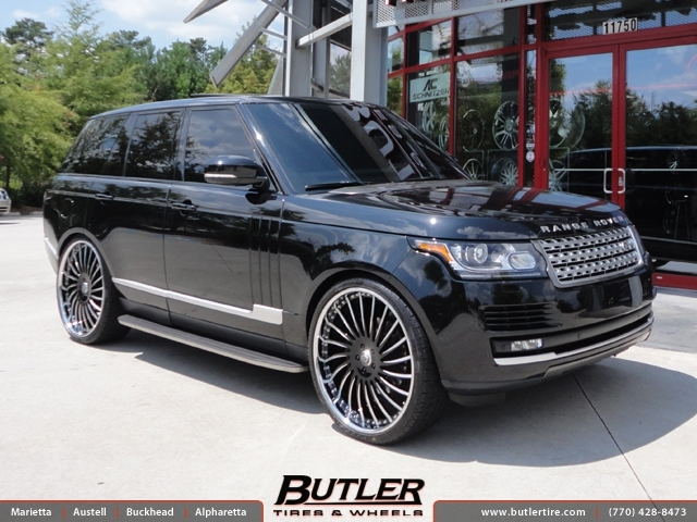Land Rover Range Rover with 26in Lexani LF712 Wheels