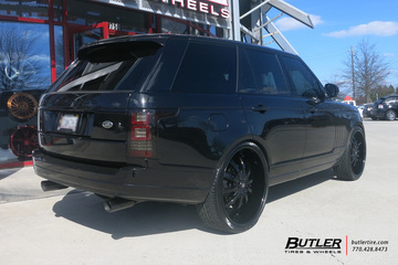 Land Rover Range Rover with 26in Lexani LSS10 Wheels