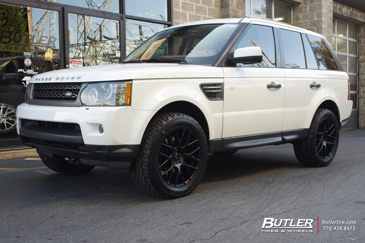 Land Rover Range Rover Sport with 20in Niche Circuit Wheels