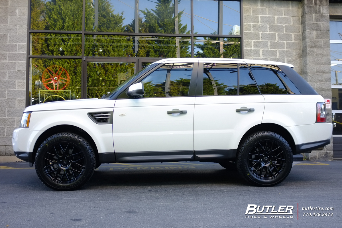 Land Rover Range Rover Sport with 20in Niche Circuit