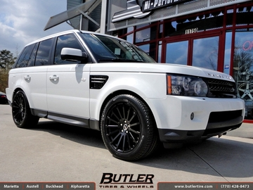Land Rover Range Rover Sport with 20in Redbourne Dominus Wheels
