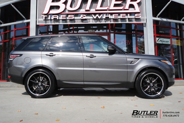 Land Rover Range Rover Sport with 22in Lexani R-Twelve Wheels