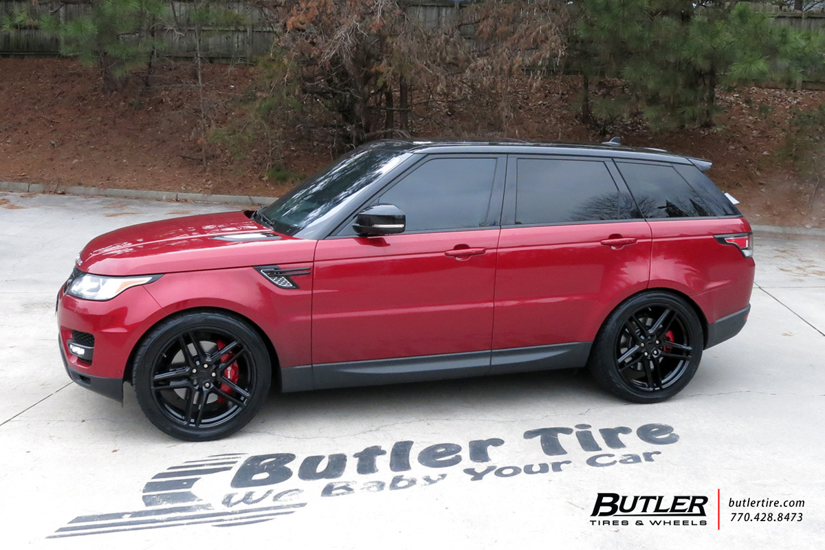 Land Rover Range Rover Sport with 22in Redbourne Crown Wheels