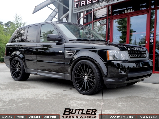 Land Rover Range Rover Sport with 22in Redbourne Dominus Wheels