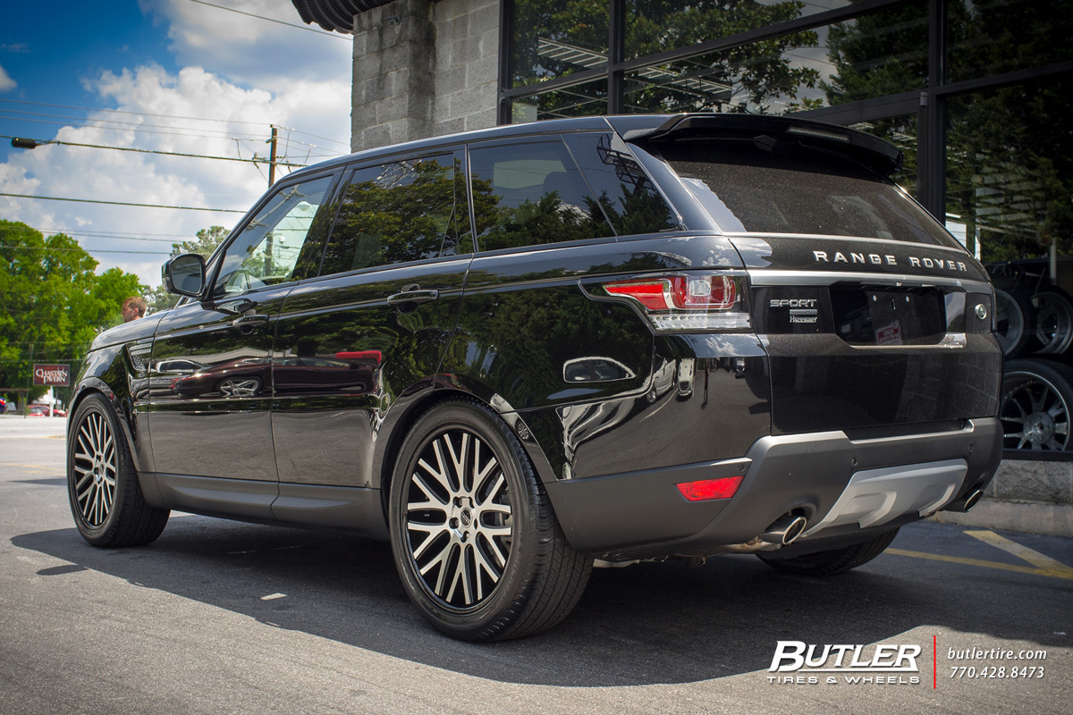 Land Rover Range Rover Sport with 22in Redbourne Hampshire Wheels