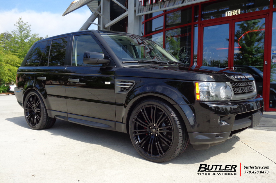 Land Rover Range Rover Sport With In Redbourne Manor Wheels Large on 2010 Mercury Milan