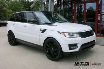 Land Rover Range Rover Sport with 22in Redbourne Manor Wheels