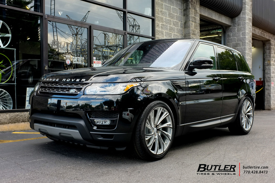 Land Rover Range Rover Sport with 22in Redbourne Noble ...