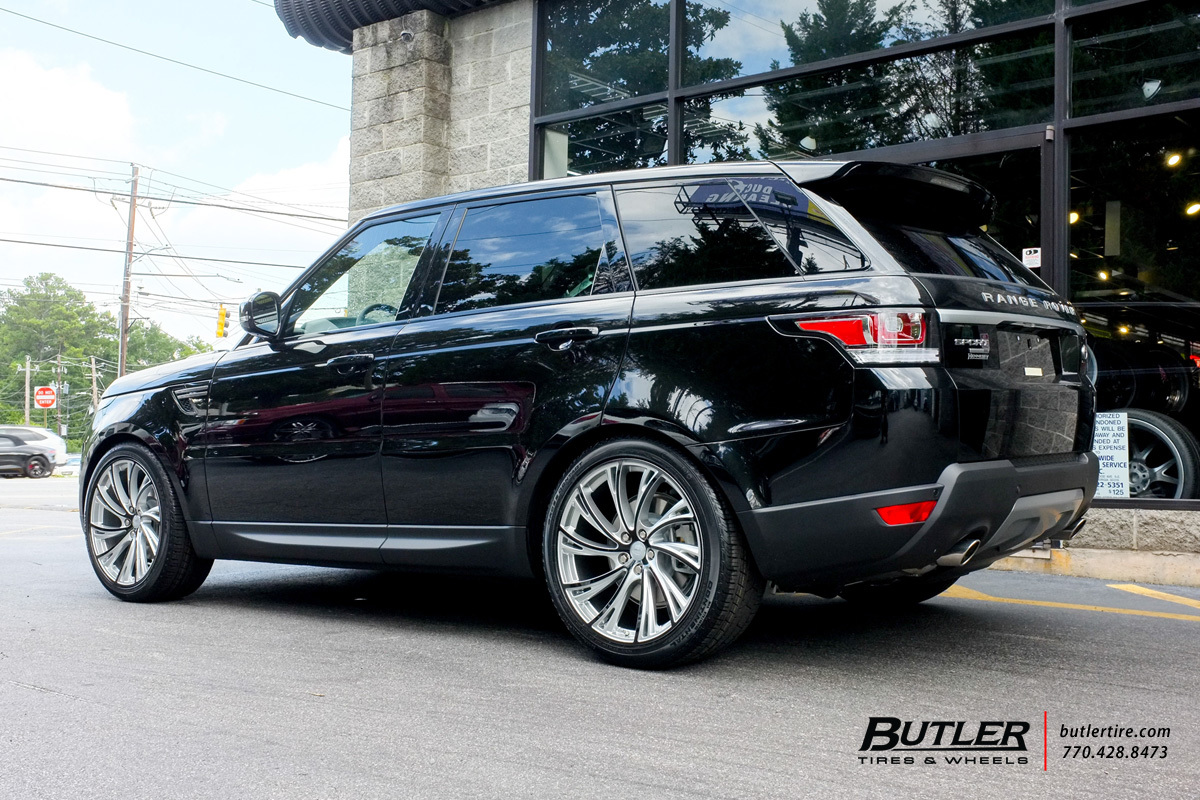 Land Rover Range Rover Sport with 22in Redbourne Noble Wheels
