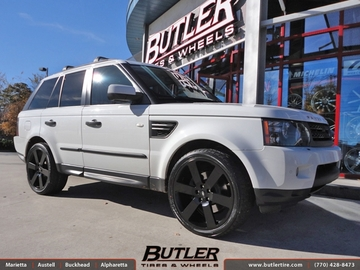 Land Rover Range Rover Sport with 22in Redbourne Saxon Wheels