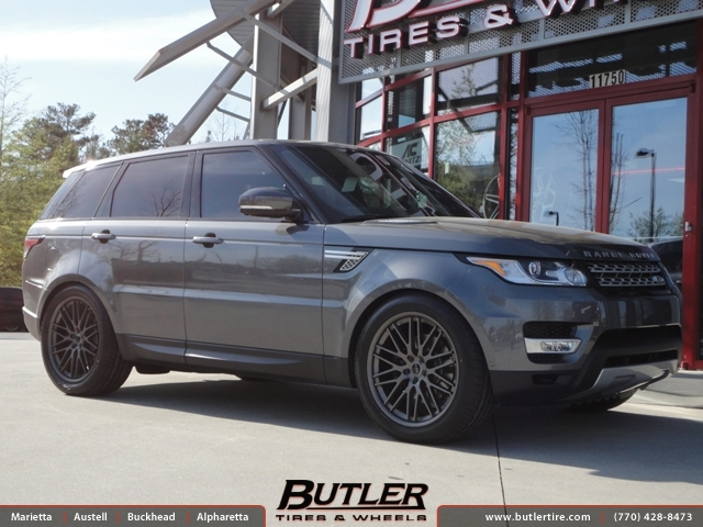Land Rover Range Rover Sport with 22in Savini BM4 Wheels