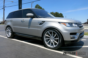 Land Rover Range Rover Sport with 22in Vossen CVT Wheels