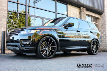 Land Rover Range Rover Sport with 24in Lexani Gravity Wheels