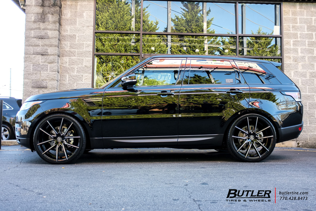 Land Rover Range Sport With 24in Lexani Gravity Wheels