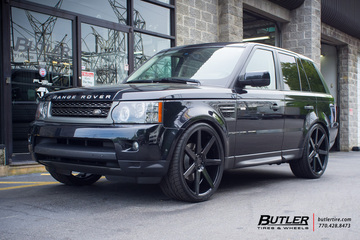 Land Rover Range Rover Sport with 24in Niche Verona Wheels